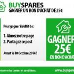 Grand concours coupon de réduction BuySpares