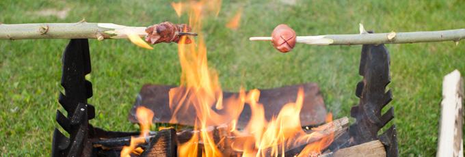 Barbecue de fortune